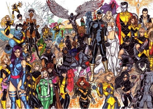 Full X Men Roster